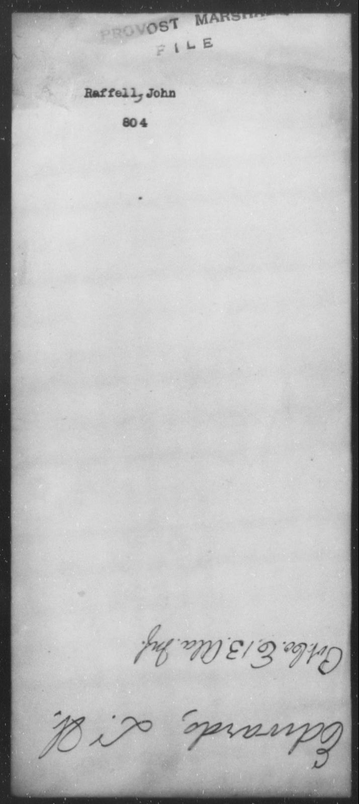 Raffell, John - State: [Blank] - Year: [Blank]