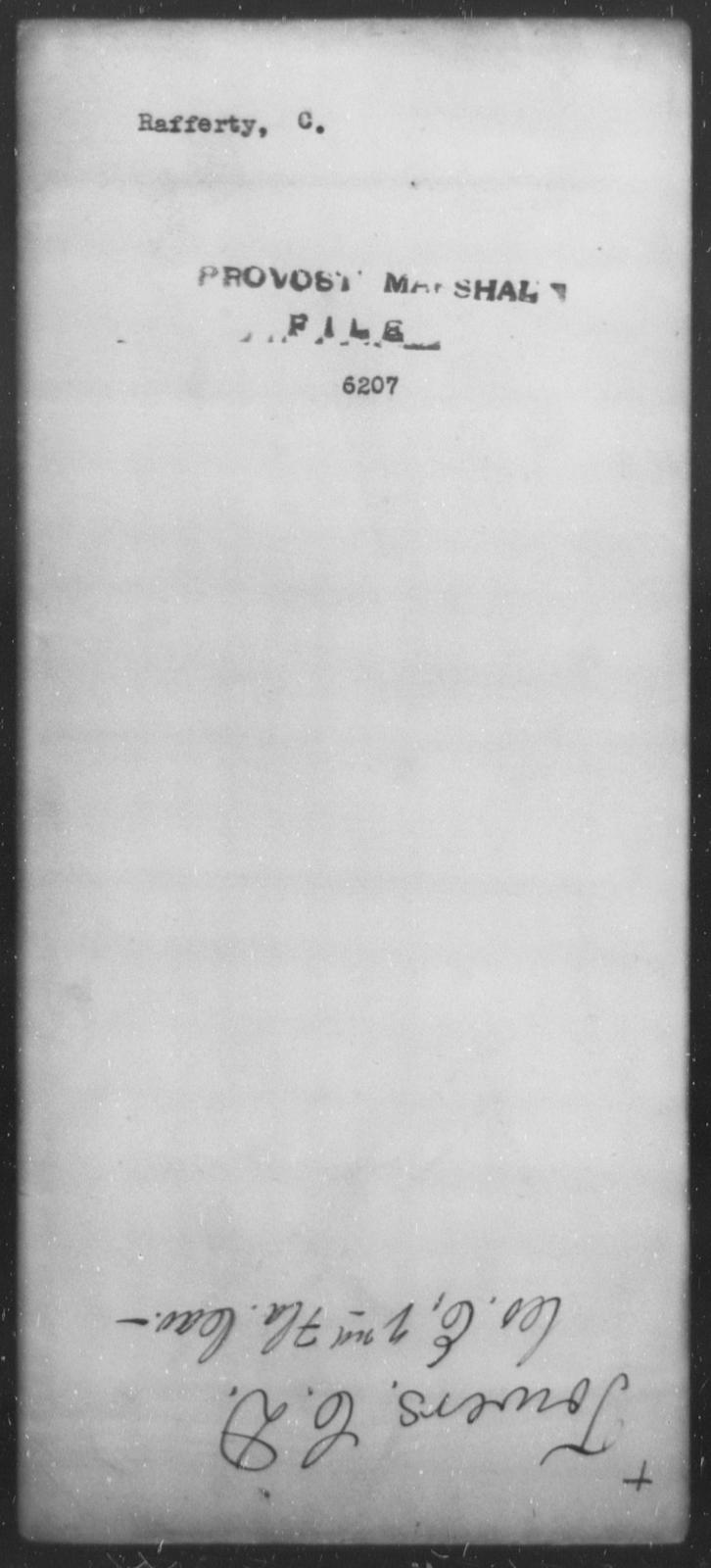 Raffertt, C - State: [Blank] - Year: [Blank]