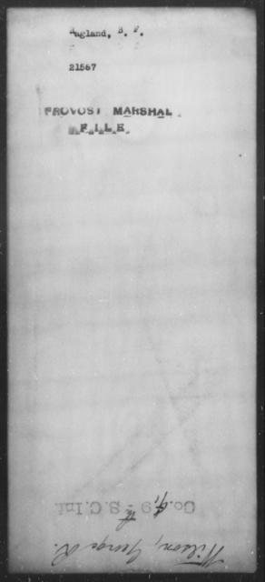 Ragland, B F - State: [Blank] - Year: [Blank]