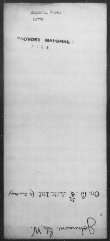 Ragland, Tho - State: [Blank] - Year: [Blank]