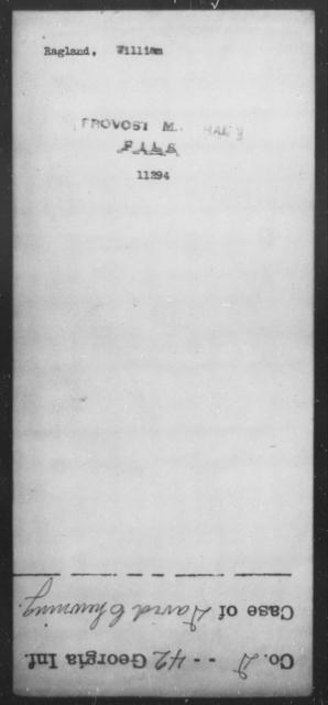 Ragland, William - State: [Blank] - Year: [Blank]