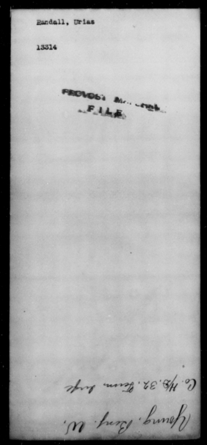 Randall, Urias - State: [Blank] - Year: [Blank]