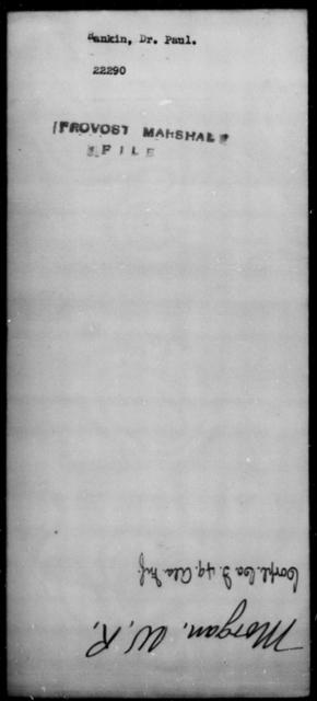 Rankin, Paul - State: [Blank] - Year: [Blank]
