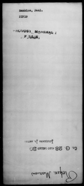 Rankins, Paul - State: [Blank] - Year: [Blank]
