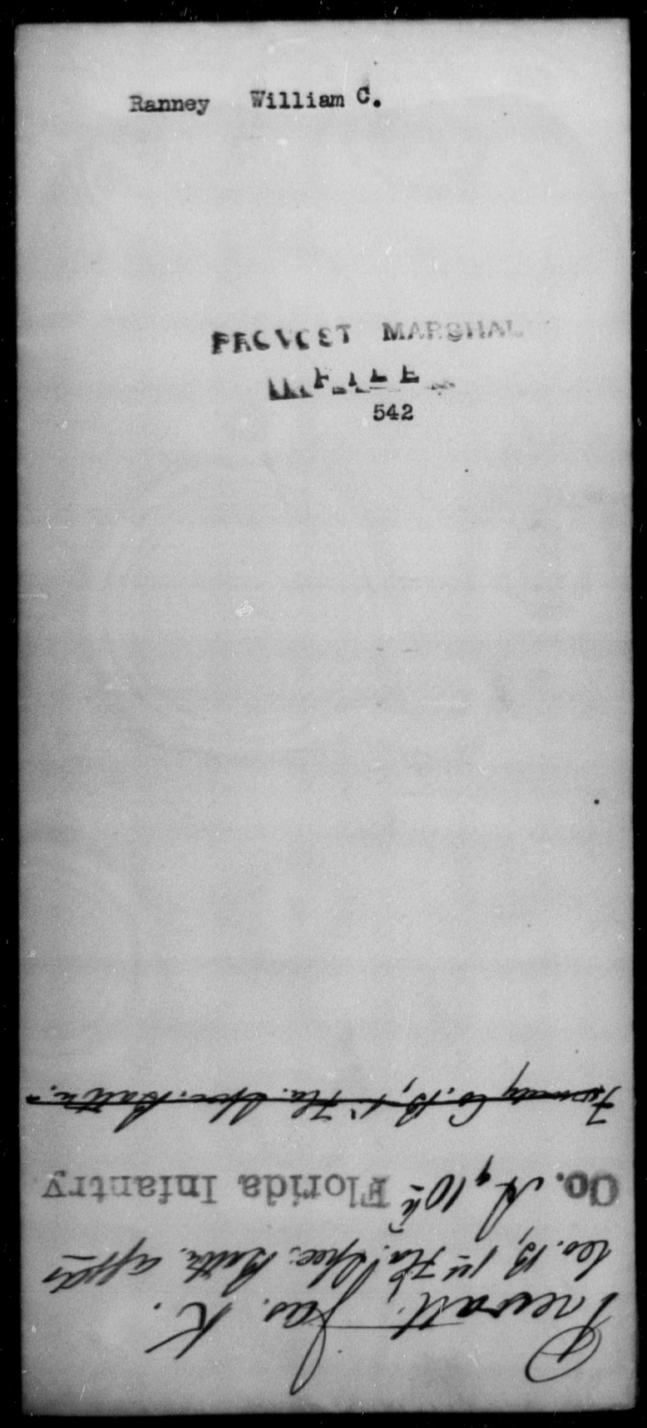Ranney, William C - State: [Blank] - Year: [Blank]
