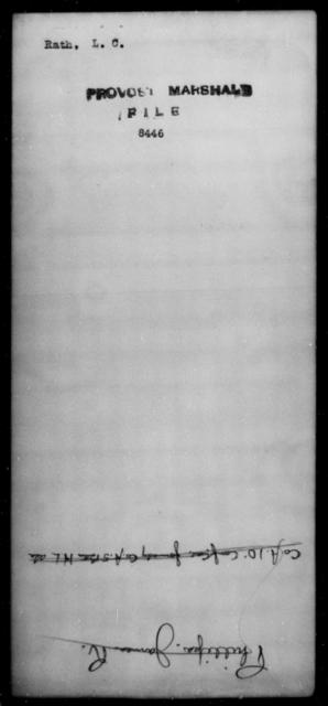 Rath, L C - State: [Blank] - Year: [Blank]