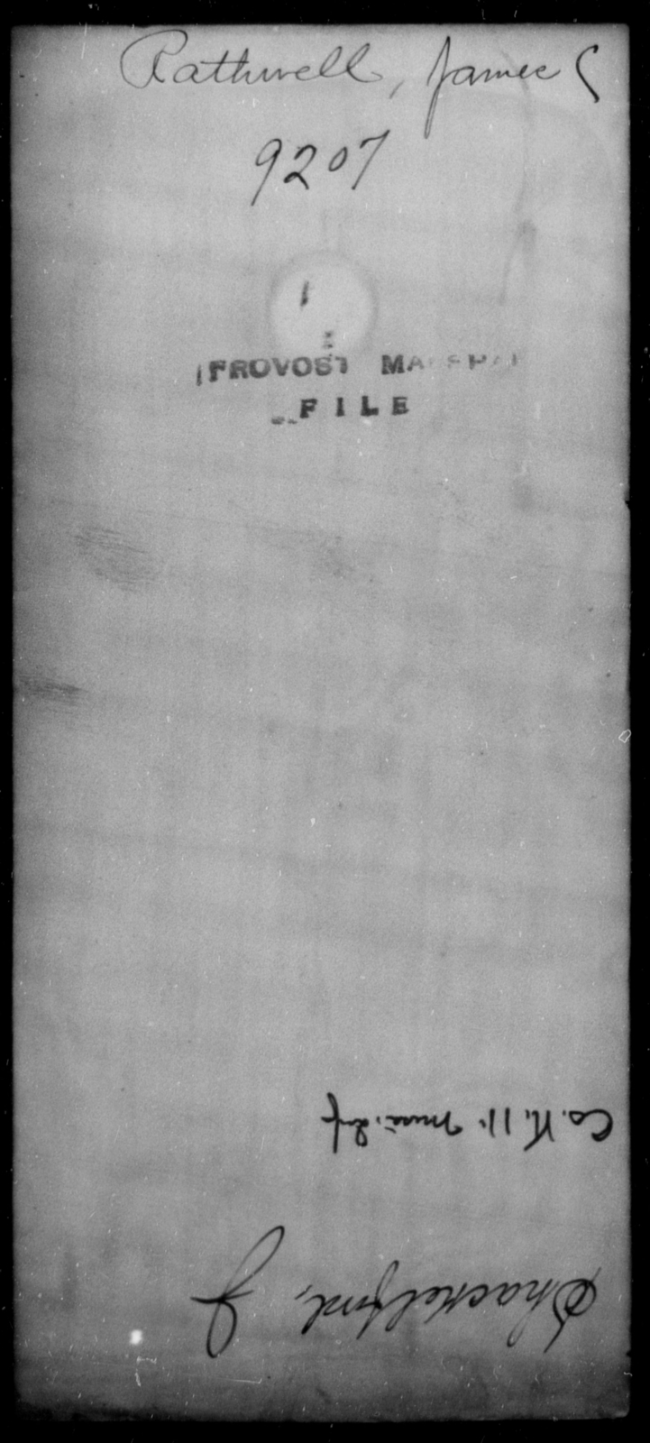 Rathwell, James C - State: [Blank] - Year: [Blank]