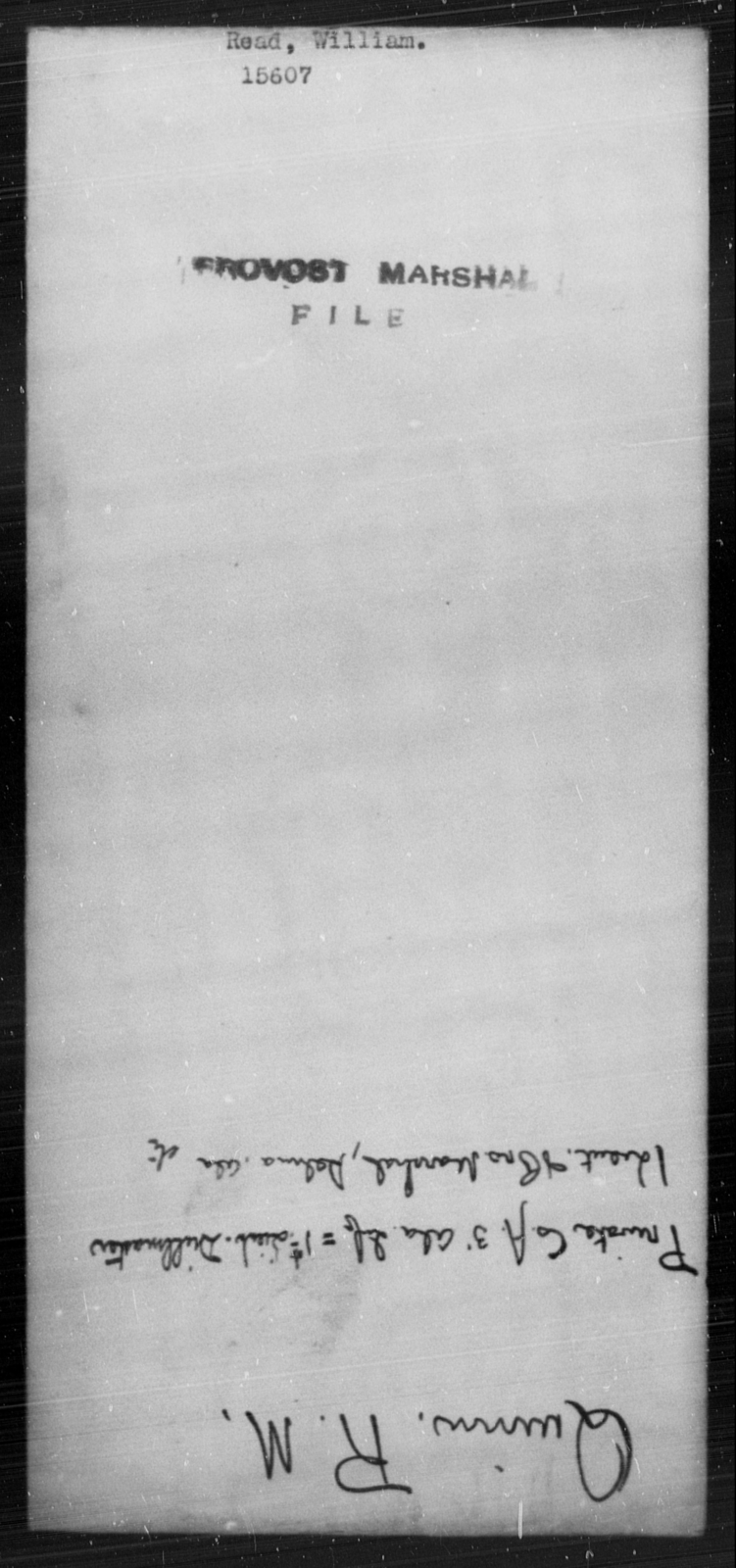 Read, William - State: [Blank] - Year: [Blank]