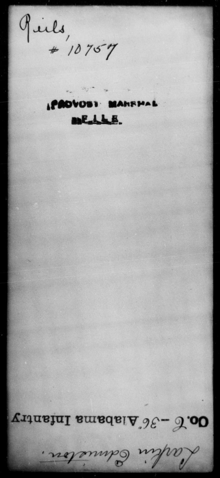 Reils, [Blank] - State: [Blank] - Year: [Blank]