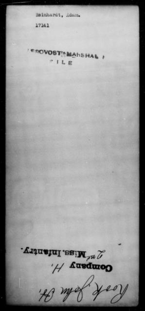Reinhardt, Adam - State: [Blank] - Year: [Blank]