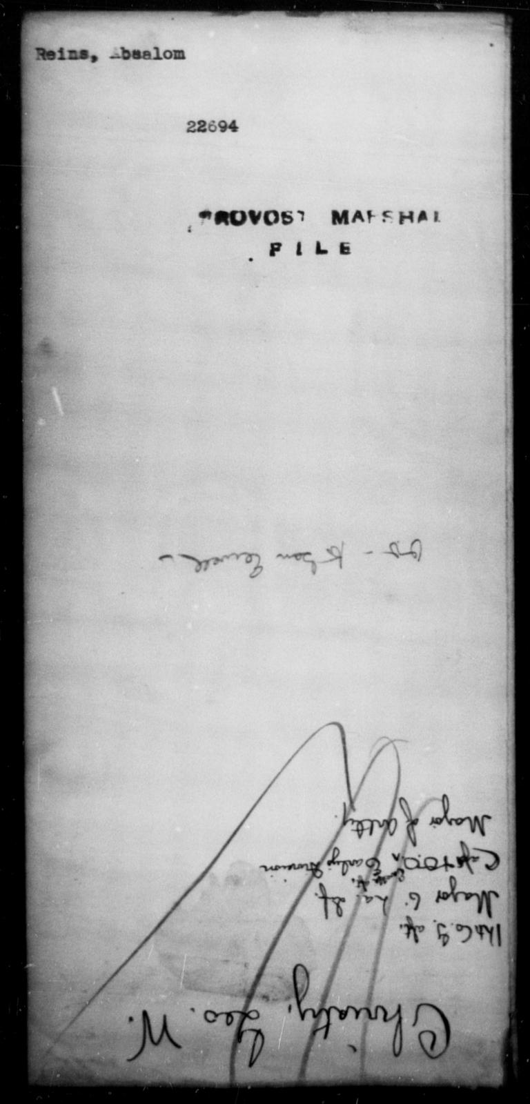 Reinstein, Absalom - State: [Blank] - Year: [Blank]