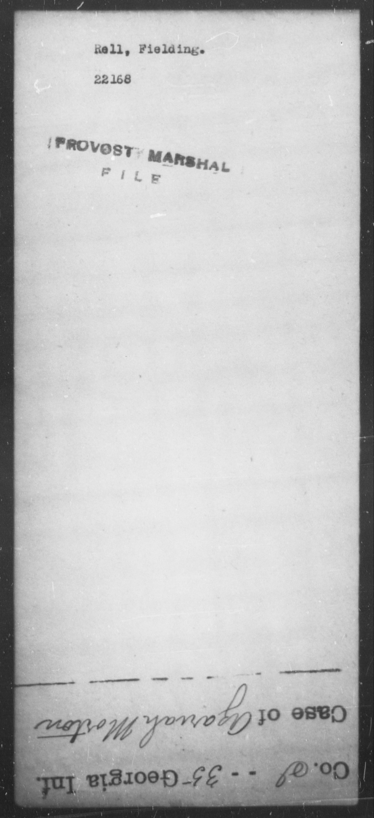 Rell, Fielding - State: [Blank] - Year: [Blank]