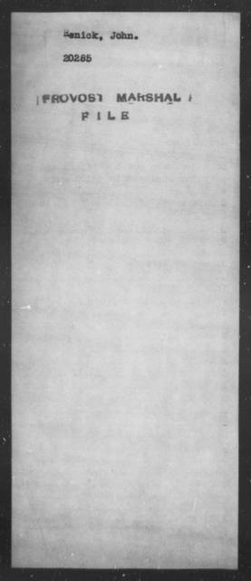 Renick, John - State: [Blank] - Year: [Blank]