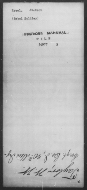 Revel, Jackson - State: [Blank] - Year: [Blank]