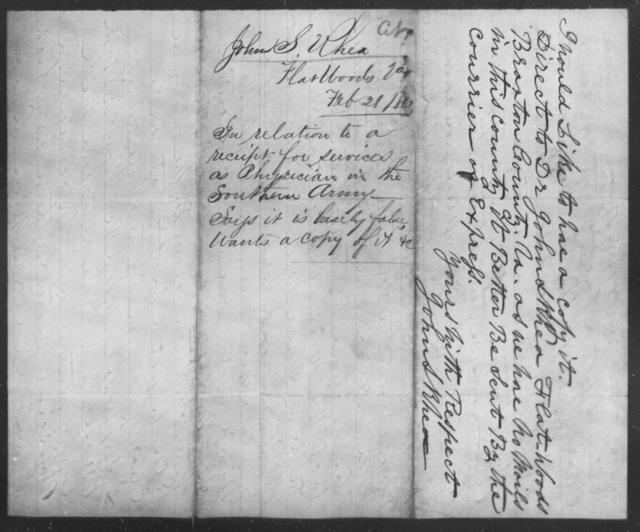 Rhea, John S - State: Virginia - Year: 1861
