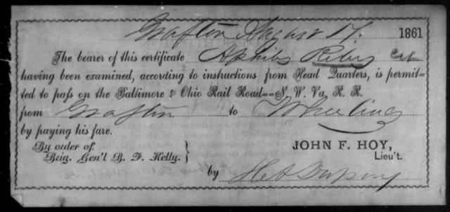 Riley, Apnibs - State: [Blank] - Year: 1861