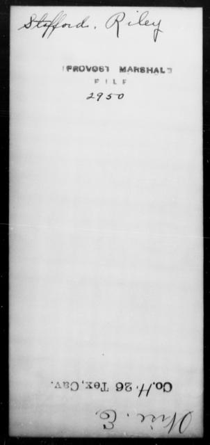 Stafford, Riley - State: [Blank] - Year: [Blank]
