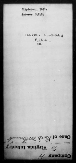 Stapleton, Phil - State: [Blank] - Year: [Blank]