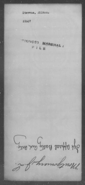 Stevens, Milton - State: [Blank] - Year: [Blank]