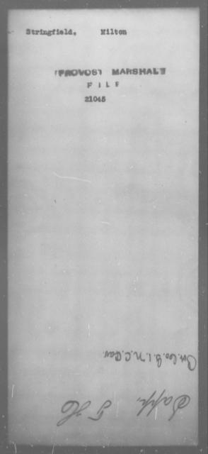 Stringfield, Milton - State: [Blank] - Year: [Blank]