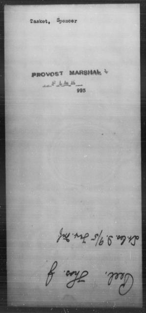Tasket, Spencer - State: [Blank] - Year: [Blank]