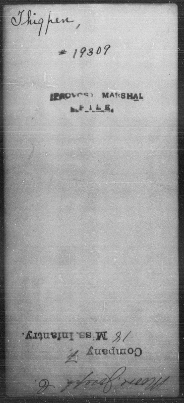 Thigpen, [Blank] - State: [Blank] - Year: [Blank]