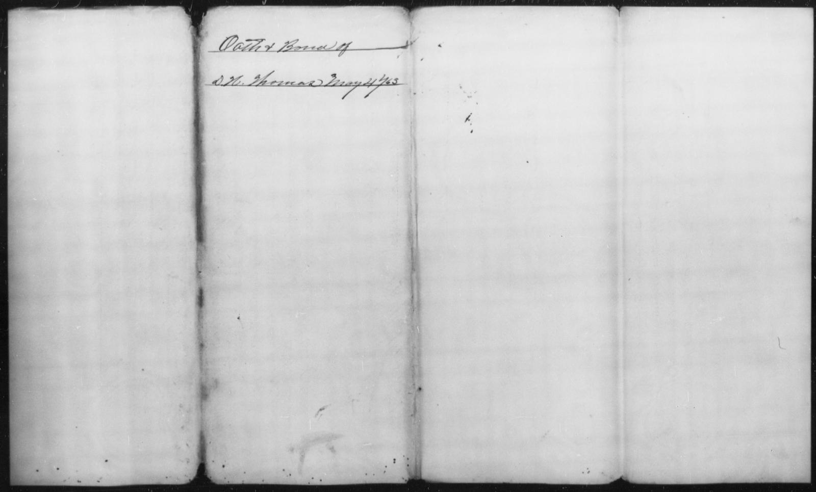 Thomas, D H - State: Missouri - Year: 1863
