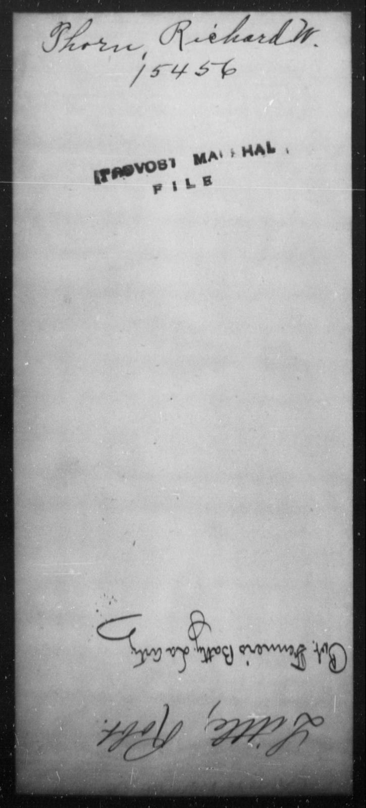 Thorn, Richard W - State: [Blank] - Year: [Blank]