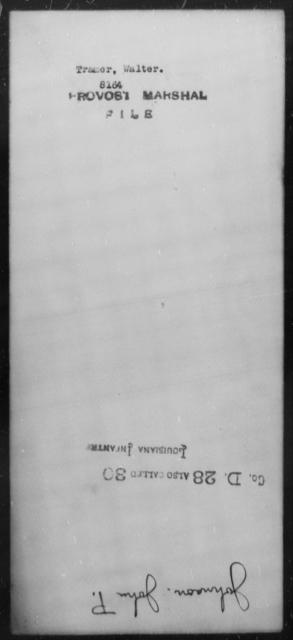 Tramer, Walter - State: [Blank] - Year: [Blank]