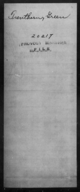 Trenthorn, Green - State: [Blank] - Year: [Blank]