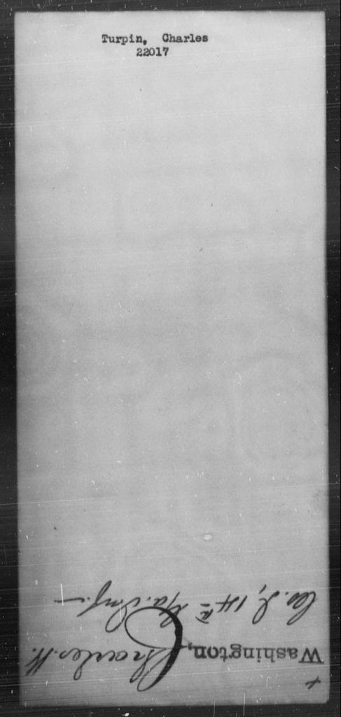 Turpin, Charles - State: [Blank] - Year: [Blank]
