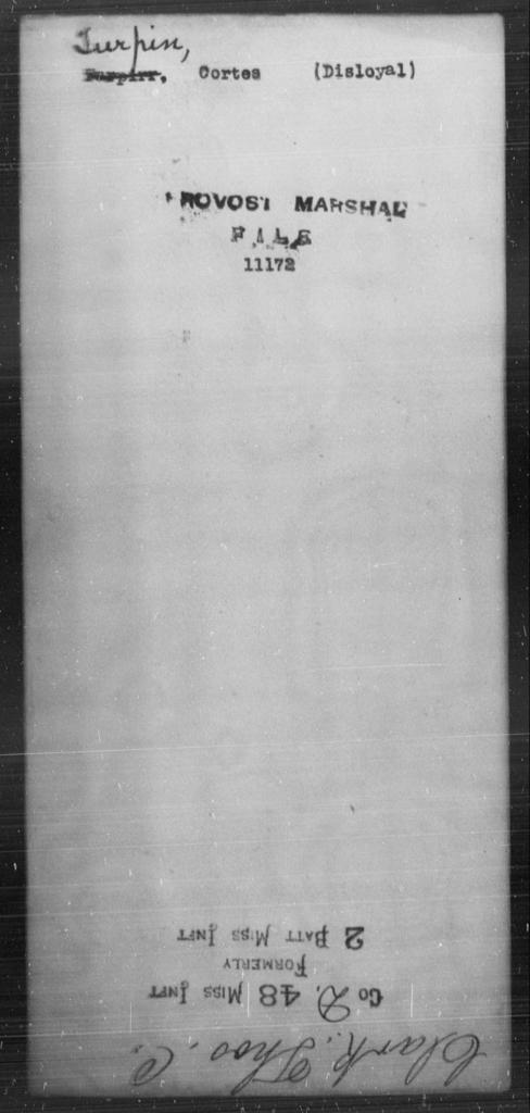 Turpin, Cortes - State: [Blank] - Year: [Blank]