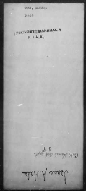 Tutt, Martha - State: [Blank] - Year: [Blank]