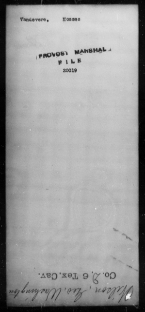 Vandevere, Mosses - State: [Blank] - Year: [Blank]