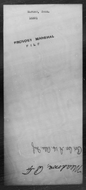 Warner, Cook - State: [Blank] - Year: [Blank]