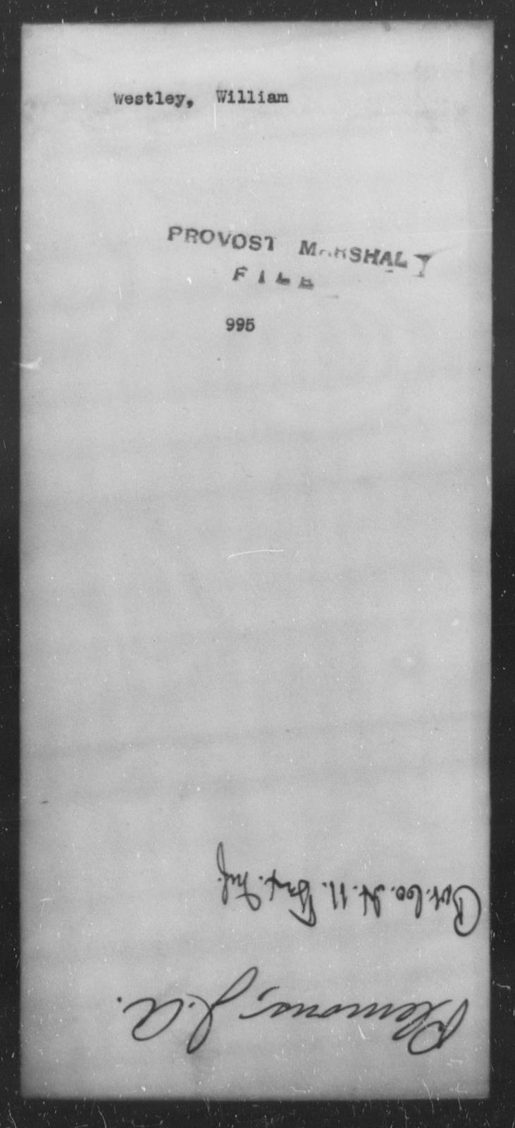 Westley, William - State: [Blank] - Year: [Blank]