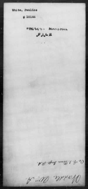 White, Pauline - State: [Blank] - Year: [Blank]