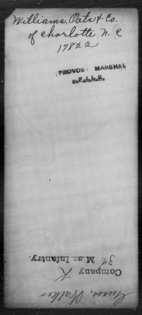 Williams, Oats - State: North Carolina - Year: [Blank]