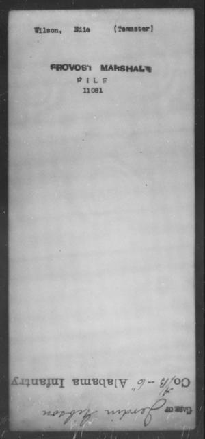 Wilson, Edie - State: [Blank] - Year: [Blank]