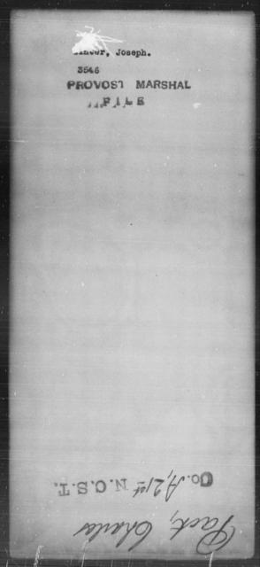 Winter, Joseph - State: [Blank] - Year: [Blank]