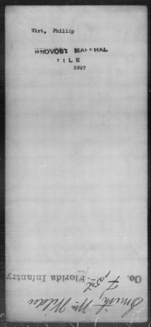 Wirt, Phillip - State: [Blank] - Year: [Blank]