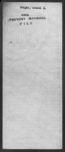 Wright, Samuel E - State: [Blank] - Year: [Blank]