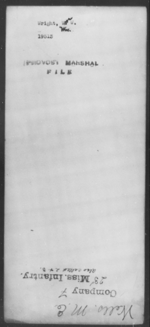 Wright, Wm W - State: Missouri - Year: 1862