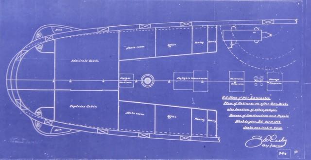 Plan of Cabins after Gun Deck