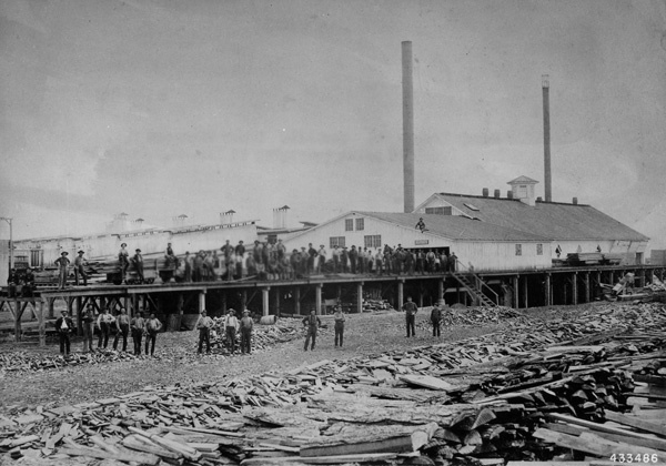 Photograph of Emery Lumber Company Sawmill