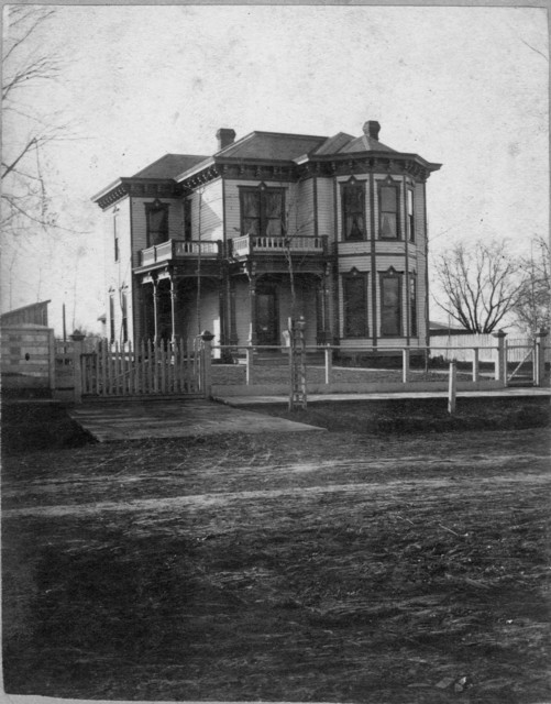 Photograph of the Wallace Home in Independence, Missouri