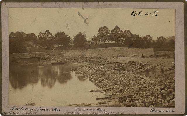 Kentucky River Dam Number Four