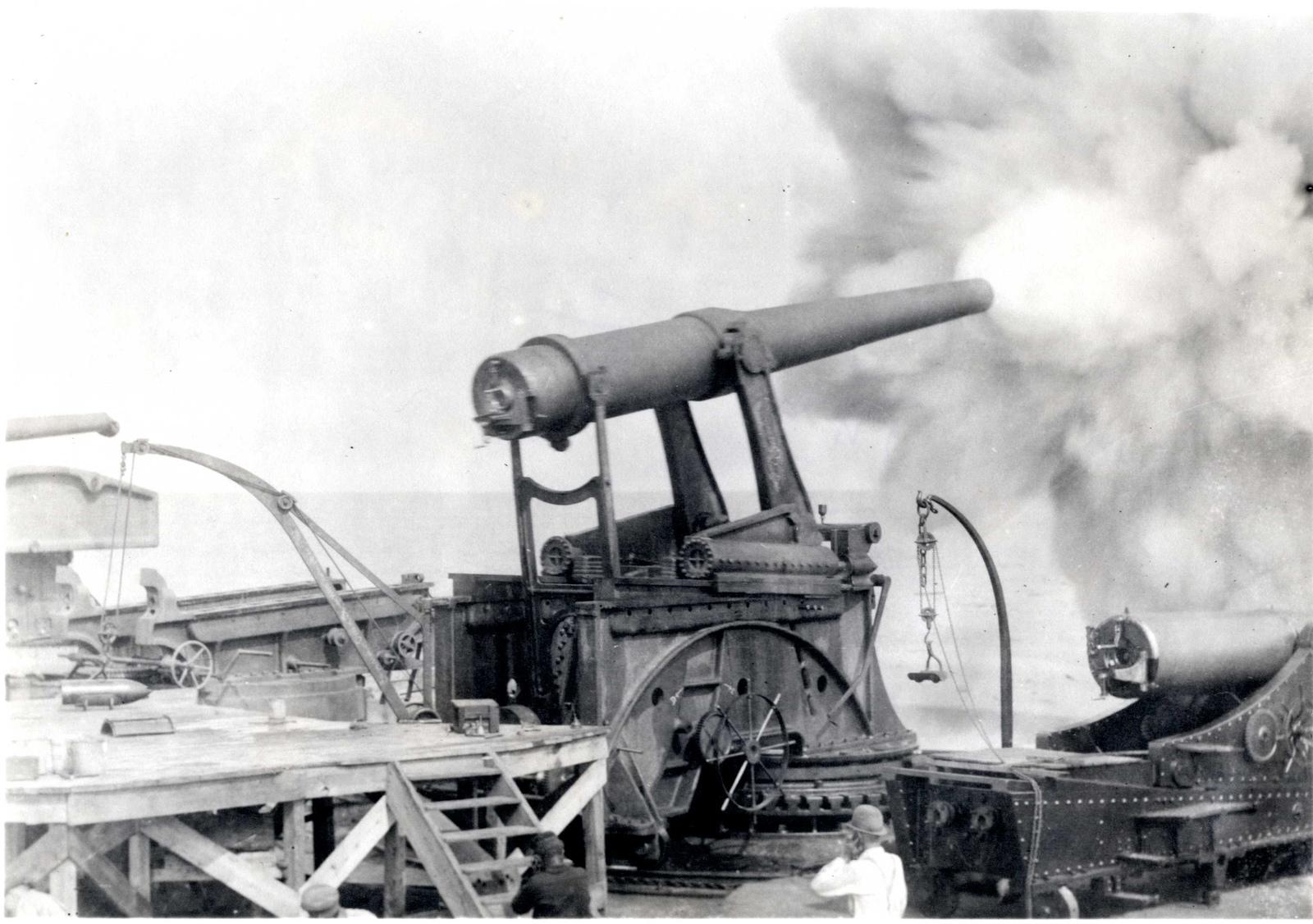 Gun Model on Pneumatic Carriage #1467