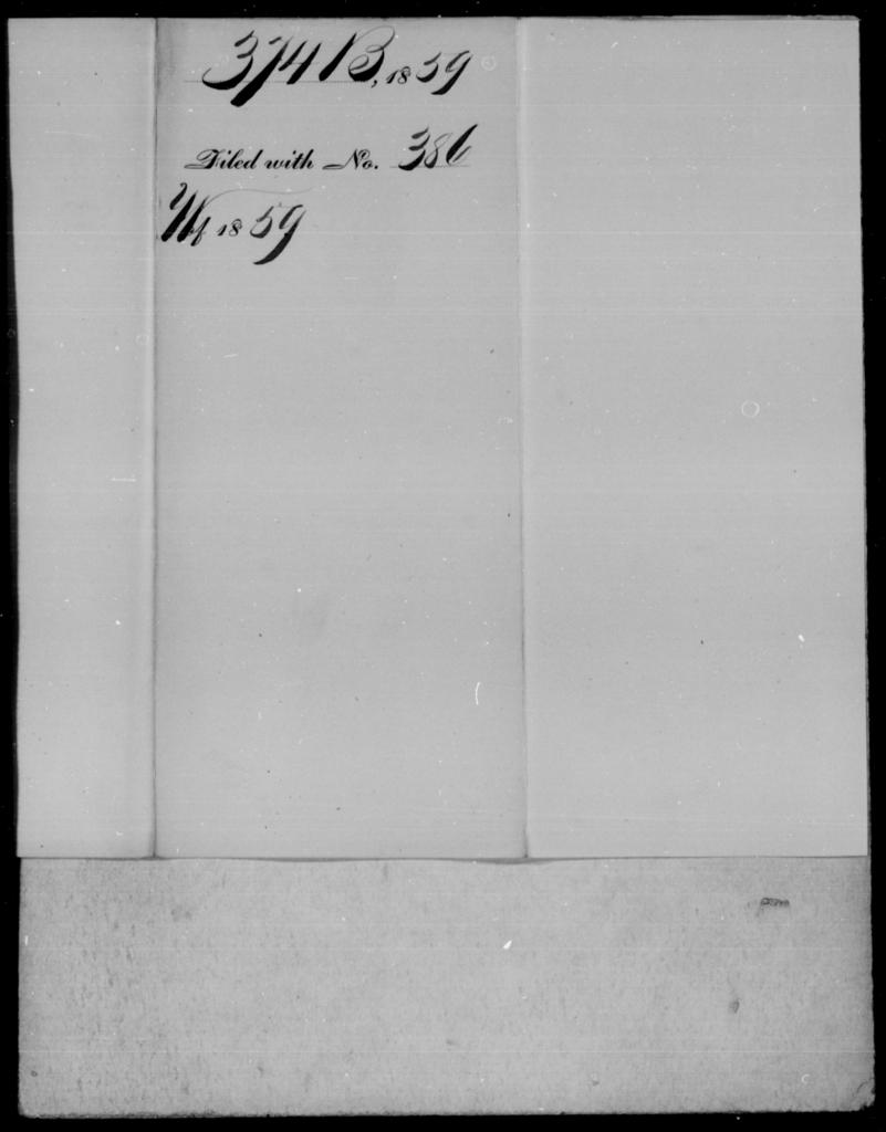 Backus, [Blank] - State: [Blank] - Year: 1859 - File Number: B374