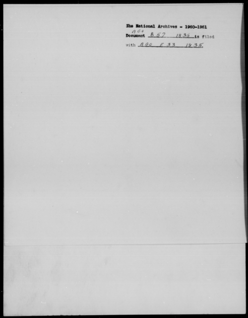[Blank], [Blank] - State: Alabama - Year: 1835 - File Number: B57